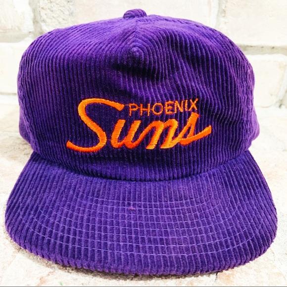 2cef26bc5 🔥 Vintage Phoenix Suns Corduroy Strapback Hat